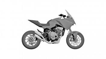 Moto - News: La Honda CB4 X: da concept a modello di serie, crossover 4 cilindri