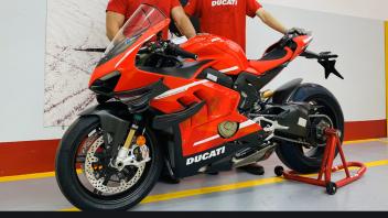 Moto - News: Domenicali: Superleggera ready to move to Nardo for final quality check
