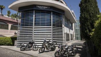 Moto - News: Triumph Italia riparte dalla nuova sede di Segrate (Milano)