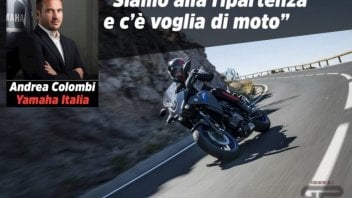 """Moto - News: Yamaha, Andrea Colombi: """"Siamo alla ripartenza e c'è voglia di moto"""""""