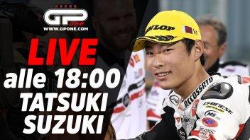 Moto3: LIVE - Tatsuki Suzuki ospite della diretta alle 18:00 su GPOne