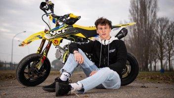 """Moto3: Zannoni: """"Con Gresini per vincere, poi voglio il mondiale"""""""