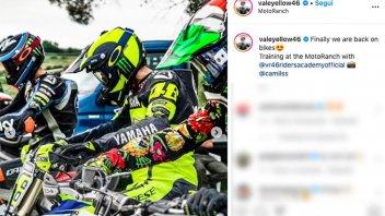 MotoGP: Valentino Rossi ed il ritorno al Ranch con i ragazzi della VR46 Academy
