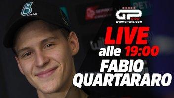 MotoGP: LIVE - Fabio Quartararo ospite della diretta alle 19:00 su GPOne