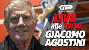 MotoGP: LIVE - Giacomo Agostini ospite della diretta alle 19:30 su GPOne