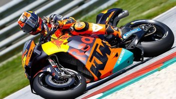 "MotoGP: Espargarò challenges the cold in KTM tests: ""No point looking at the track temperature"""
