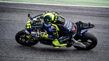 MotoGP: VIDEO: Valentino Rossi is here!! First laps on the track at Misano