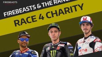MotoGP: Valentino Rossi e i piloti del Ranch a Spa per beneficenza