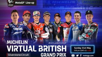 MotoGP: La Virtual Race di Silverstone in tv su Sky e live su GPOne