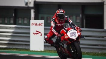 "News: Pirro: Back on the bike I thought ""Hell, how fast is this thing going!"""