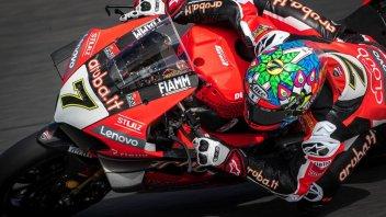 SBK: Ducati: una lunga estate calda tra Davies e la Panigale V4