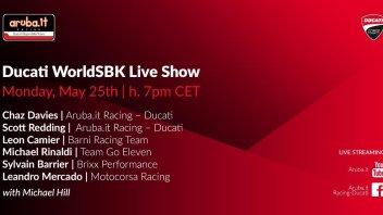 SBK: I piloti Ducati Superbike LIVE alle 19 su GPOne