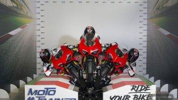 Moto - News: Moto Trainer: allenarsi sulla propria moto nel salotto di casa