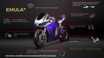 Moto - News: Emula, la moto elettrica che può farti sentire come su una 500 2 tempi