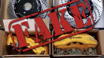 Moto - News: Comprereste un Rolex finto? Non fatevi fregare da un Brembo finto!