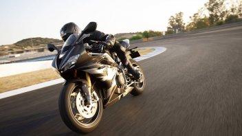 """Moto - Test: Triumph Daytona 765 Moto2, punta di diamante del """"3"""" sportivo"""