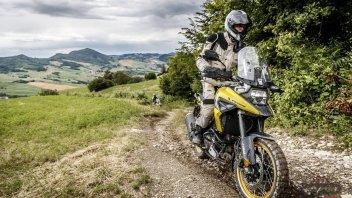 Moto - Test: Suzuki V-Strom Academy: si riparte in off-road con la V-Strom 1050XT