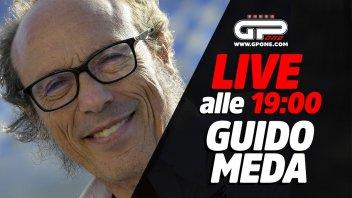 MotoGP: LIVE - Guido Meda ospite della diretta su GPOne alle 19
