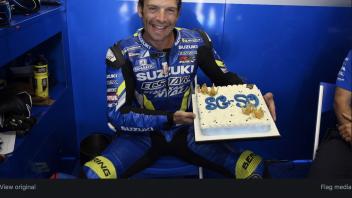 MotoGP: Sylvain Guintoli: l'ex iridato Superbike festeggia 38 anni nel box