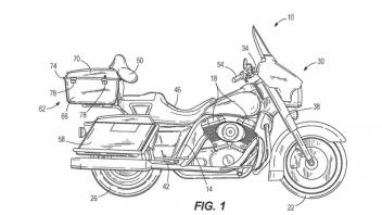 Moto - News: Le Harley-Davidson potrebbero presto stare ferme in equilibrio da sole