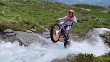 Moto - News: Toni Bou: relax sulle Alpi per il pluricampione del Mondo