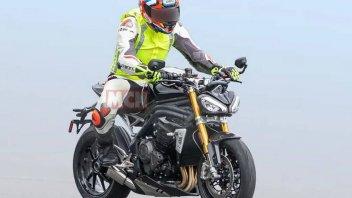 Moto - News: Triumph Speed Triple 1160 2021: le foto spia!