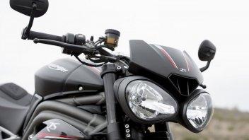 Moto - News: Triumph Speed Triple 1160 2021: beccata su strada