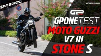 Moto - Test: Prova Moto Guzzi V7 III Stone S: classica che piace, in serie limitata