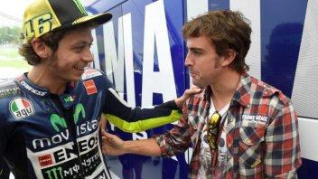 MotoGP: Rossi & Alonso: 40enni d'assalto, quella voglia matta di correre