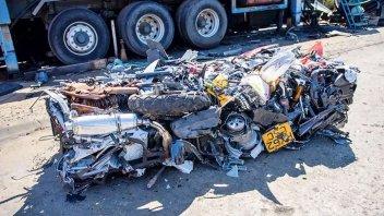 Moto - News: Regno Unito: a Corby, se sbagli, ti distruggono la moto!