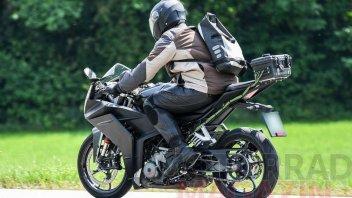 Moto - News: KTM RC 390 2021: ecco il prototipo della piccola sportiva austriaca