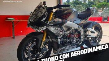 Moto - News: SCOOP: Aprilia's Tuono with MotoGP aerodynamics!