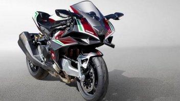 Moto - News: Bimota: ecco la Tesi H2 definitiva. Cuore Kawasaki, tecnica Bimota
