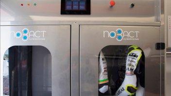 Moto - News: NoBACT e Vircos unite per migliorare la sanificazione delle tute in pista