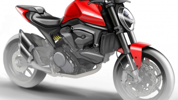 Moto - News: Ducati Monster 821 2021: la nuova era senza telaio a traliccio