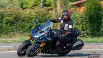Moto - News: Yamaha: dopo le tre ruote, verso la moto che non cade