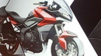 Moto - News: Triumph Tiger Sport 850: l'omologazione conferma l'arrivo dell'inglese