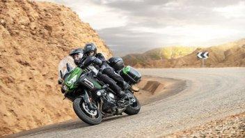Moto - News: Kawasaki Versys 1000 Standard, S ed SE 2021: stessa moto, tripla anima