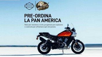Moto - News: Harley-Davidson Pan America, iniziate le prenotazioni