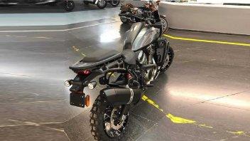 Moto - News: Harley-Davidson Pan America, prime foto del modello preserie