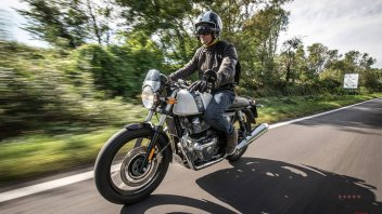 Moto - Test: Prova Royal Enfield Continental GT 650: l'indiana che torna in Europa
