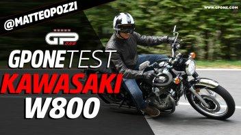 Moto - Test: Prova Kawasaki W800: il fascino del classico (ben fatto)