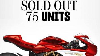 Moto - News: MV Agusta: la Superveloce 75° anniversario esaurita in pochi secondi