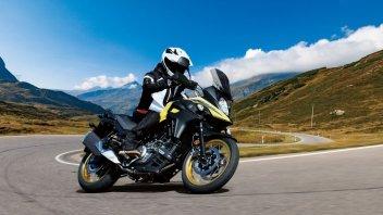 Moto - News: Suzuki V-Strom 650 e 650 XT my2021: confermata l'enduro stradale di Hamamatsu