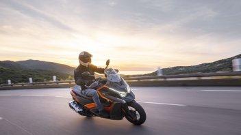Moto - Scooter: Kymco DT X360 my 2021: foto e caratteristiche dello scooter venuto dal futuro