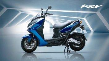 Moto - Scooter: Kymco KRV my2021: caratteristiche e foto del nuovo scooter da città
