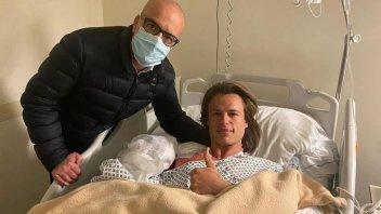 Moto2: Operazione riuscita alla spalla per Niccolò Bulega