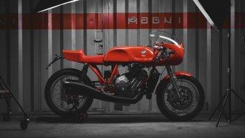 Moto - News: Magni Italia 01/01: l'eterna interpretazione della MV Agusta di Agostini