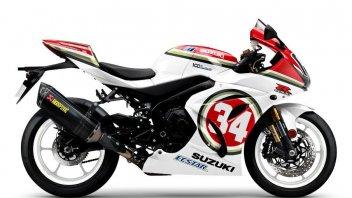Moto - News: Suzuki GSX-R1000R Legend Edition: la serie speciale che celebra 7 titoli mondiali