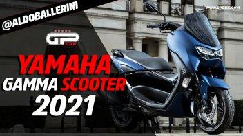 Moto - News: Yamaha: gamma scooter 2021, foto e video